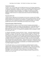 BRAFB 2014 Mobile Food Pantry Letter of Intent