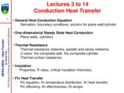 MEEN20050 2010-2011 L3-L6 Conduction Equation(2)