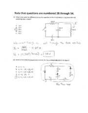 Exam 2 222 Fall 2010 solutions