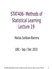 STAT406-15-lecture-19