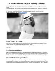 5 Health Tips to Enjoy a Healthy Lifestyle.pdf