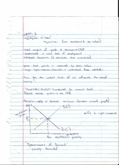Aggregates and Supply and Demand Analysis Notes