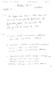 Chemistry - The Central Science PS2Answers