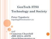 Lecture - History of Technology