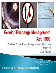 Management foreign pdf exchange act