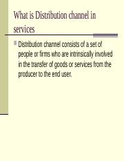 Services Distribution.ppt