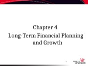 Fin4001 N4 L-T FP and Growth(1)