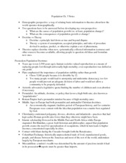 Population-Ch.3 Notes
