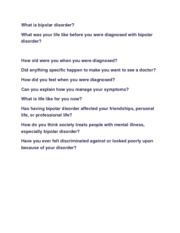bipolar interview questions