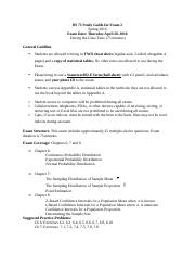 DS 73 Study Guide for Exam 3, SP 2016(2) (2).docx