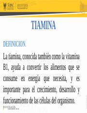 definicion pirofosfato de tiamina