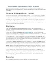 Financial Statement Ratios.docx