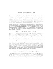 Linear systems of parameters for standard graded algebras