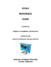 601(2014) Study Reference Guide