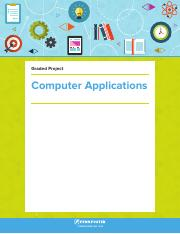 Computer Applications Study Guide
