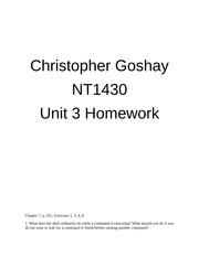 nt1430 unit 2 homework