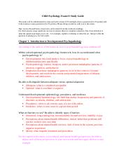 """juvenile delinquency exam 1 study guide Juvenile delinquency sociology 220 fall 2016 course description  recommend that you review them to guide you in your studying and test your knowledge of the course materials also, be sure to review the """"test your knowledge"""" and """"thought and discussion""""  code of the street girls' study group sept 15 exam #1 ii theories of."""