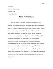 Rose McClendon Paper.docx