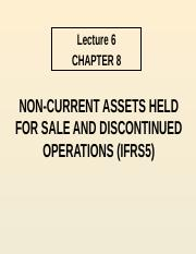 Lecture 6 - Non Current Assets Held for Resale.pptx