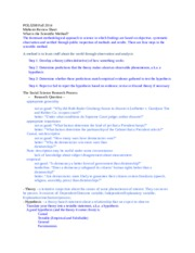 POLS208 Fall 2014 Study Guide