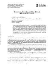 WOLFENDALE_2007_Terrorism_Security_and_the_Threat_of_Counterterrorism-2.pdf