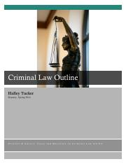 0000 Criminal Law Outline