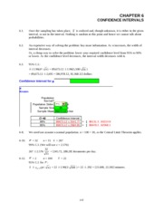 Chapter 6_Confidence Interval_Even numbers