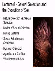Lecture 8 EEB120 Spr -16 Sexual Selection _Evolution of Sex For posting.pdf