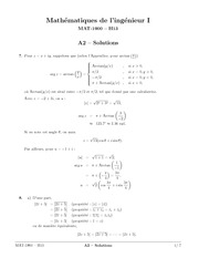 exercices 2 solutions