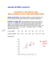 Complete Notes for Jan 30 - Fitting a Line to Bivariate Data (3.3)