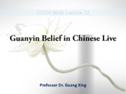 12 - Guanyin Belief in Chinese Life