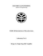 Lecture Notes H on Microelectronics