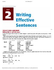 Creating Academic and Career Success - PART 2_ WRITING EFFECTIVE SENTENCES