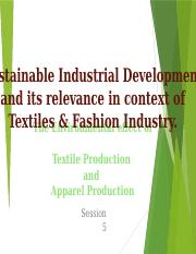 5. Sustainable Industrial Development and its relevance in context of Textiles & Fashion Industry.pp