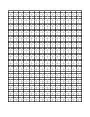 Writing Template Grid