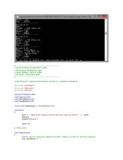 Create a C++ console application that will store and