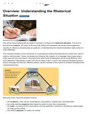 L1 Overview_ Understanding the Rhetorical Situation.pdf