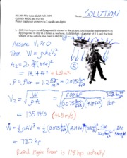 Midterm Exam Solution 2009