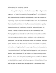 Opinion and Exploration Essay