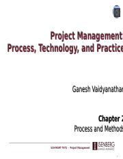 Lecture 2 - Process and Methods
