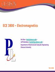 ECE 3800 Lecture Note 1