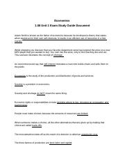 1.06 Unit 1 Exam Study Guide Document.docx