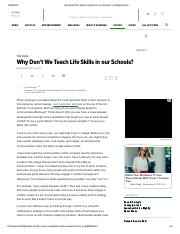 Why Don't We Teach Life Skills in our Schools_ _ Huffington Post.pdf