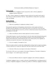 Medical Laws and Ethics chapter 6