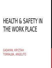 Health-safety-in-the-work-place