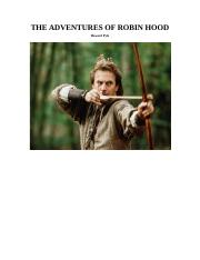 The Adventures Of Robin Hood ChildrensClassics TEXT