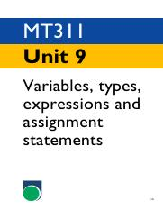 mt311_u9  Variables, types, expressions and assignment statements.pdf