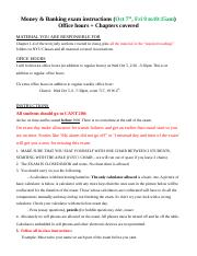 EXAM Instructions_Midterm1
