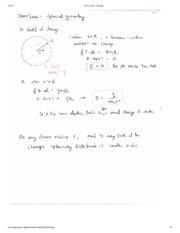 Gauss Law Syperical Symmetry Notes