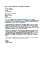 Sample Cover Letter For Graduate Trainee.docx - Sample Cover ...